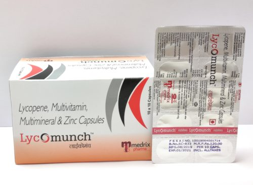 Lyco munch cap for pharma franchise