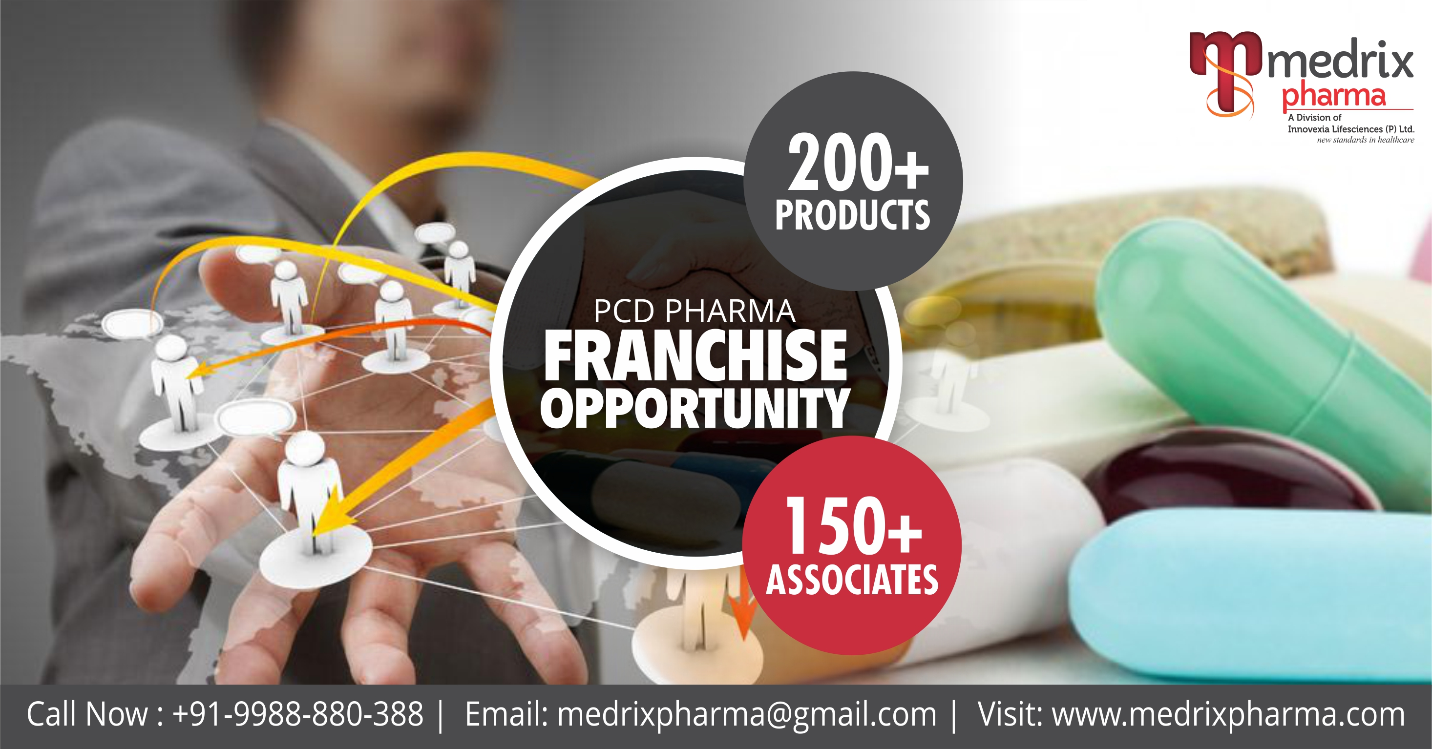 Requirements of PCD Pharma Franchise