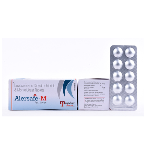 alersafe M tablets for pharma franchise opportunities in india